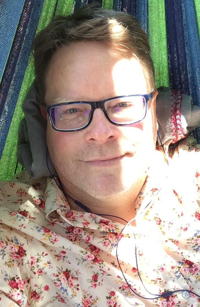 Nick in hammock