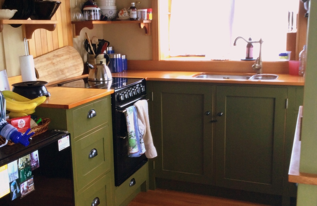 Tiny House Tiny Kitchen Does It Work The Mustard Yellow House